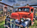 Red Dodge 2 Photographic Print by Bob Rouse