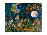 The Land of Oz Reproduction procédé giclée par Bill Bell
