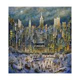 Snowtime in New York Impressão giclée por Bill Bell