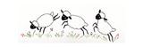 Ovejas Lámina giclée por Beverly Johnston