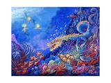 The Sea Dragon Reproduction procédé giclée par Bill Bell
