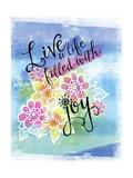 Joys of Life 1 Stampa giclée di Asmaa' Murad