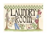 Laundry Room Gicléedruk van Debbie McMaster