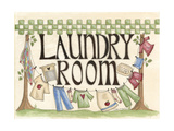 Laundry Room Giclee Print by Debbie McMaster