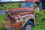 Old Truck Fotografisk trykk av Bob Rouse