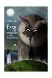 Face your Demons Giclée-Druck von Carrie Webster