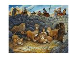 Daniel in Lions Den Reproduction procédé giclée par Bill Bell