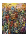 Robo Dootles Reproduction procédé giclée par Bill Bell