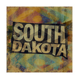 South Dakota Giclee-trykk av  Art Licensing Studio