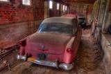 53 Red Ford Fotografisk trykk av Bob Rouse