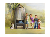 Outhouse Giclee Print by Dianne Dengel