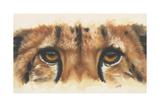 Eye-Catching Cheetah Lámina giclée por Barbara Keith
