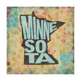 Minnesota Giclee-trykk av  Art Licensing Studio