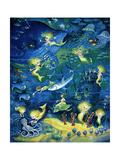 Sirènes Reproduction procédé giclée par Bill Bell