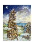 La Tour de Babel Reproduction procédé giclée par Bill Bell