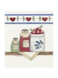 Confiture de fraises Reproduction procédé giclée par Debbie McMaster