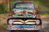 Ford Truck Front Fotografisk trykk av Bob Rouse