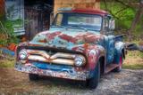 Ford Truck Fotografisk trykk av Bob Rouse