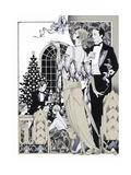 Deco Christmas Reproduction procédé giclée par David Chestnutt