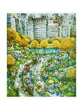 Central Park Sunday Reproduction procédé giclée par Bill Bell