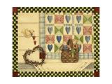 Dove and Quilt Reproduction procédé giclée par Debbie McMaster