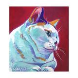 Cat - Pixie Girl Reproduction procédé giclée par  Dawgart