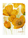 Yellow Poppies Giclee Print by Cherie Roe Dirksen