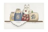 Patchwork Cat Jam Reproduction procédé giclée par Debbie McMaster