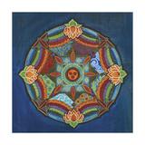 Peace Mandala Giclee Print by Catherine Breer