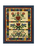 Flower Quilt 2 Giclee Print by Debbie McMaster