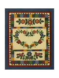 Flower Quilt 1 Giclee Print by Debbie McMaster