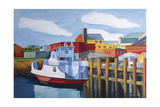 Rockland Ferry Giclee Print by Catherine Breer