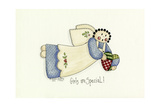 Girls are Special Angel Giclee Print by Debbie McMaster