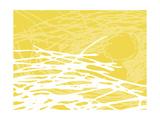 Brighter Nest Yellow Lámina giclée por Christine O'Brien