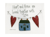Heart and Home Giclee Print by Debbie McMaster