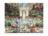 Washington Square Reproduction procédé giclée par Bill Bell