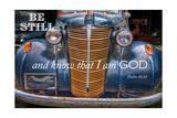 Be Still I am God Giclee-trykk av Bob Rouse