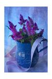 Brushy Purple 3 Giclee-trykk av Bob Rouse