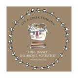 Greek Tragedy D Giclée-Druck von Effie Zafiropoulou