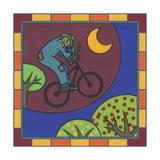 Stitch the Scarecrow Bike 3 Giclee Print by Denny Driver