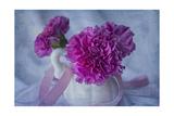 White Vase Giclee-trykk av Bob Rouse