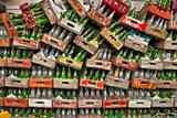 Soda Pop Bottles Fotografisk trykk av Bob Rouse
