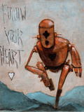 Follow Your Heart Stampa giclée di Craig Snodgrass