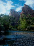 Zion Photographic Print by Gordon Semmens