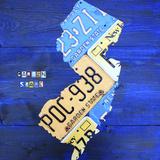 New Jersey Giclee-trykk av Design Turnpike