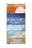 Beach Moonrise II Giclée-vedos tekijänä Color Bakery