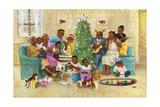 Christmas Giclee Print by Dianne Dengel