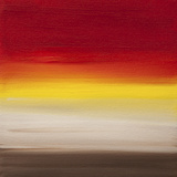 Sunsets - Canvas 1 ジクレープリント : Hilary Winfield