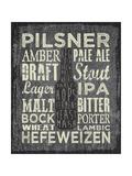 Beer Sign III Giclée-tryk af Erin Clark