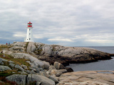 Peggy's Cove Lighthouse Photographic Print by J.D. Mcfarlan